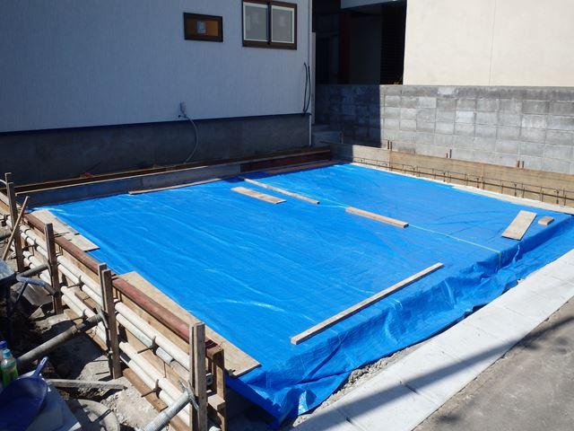 山形市 NK様邸新築工事 12 外構工事 『テクノストラクチャーで建てる山形の家』