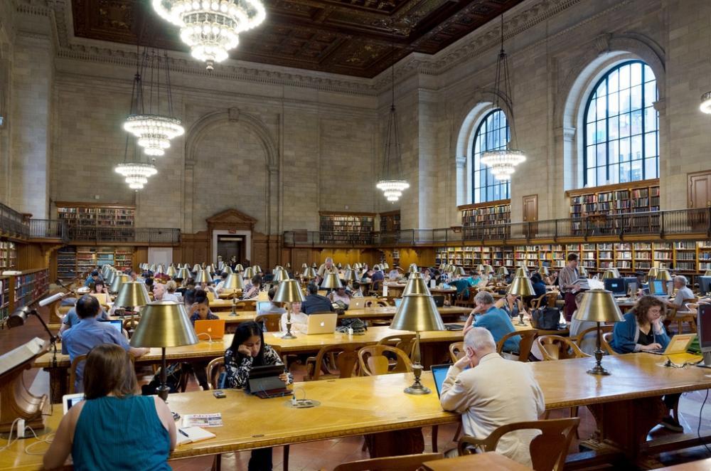 映画「ニューヨーク公共図書館」からー2