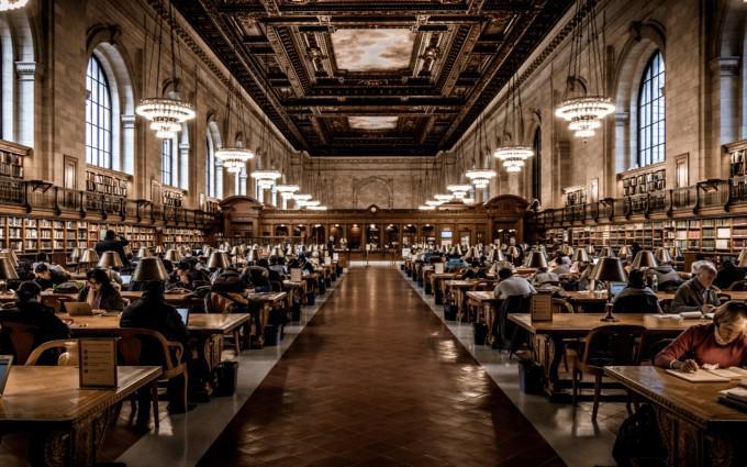 映画「ニューヨーク公共図書館」からー7
