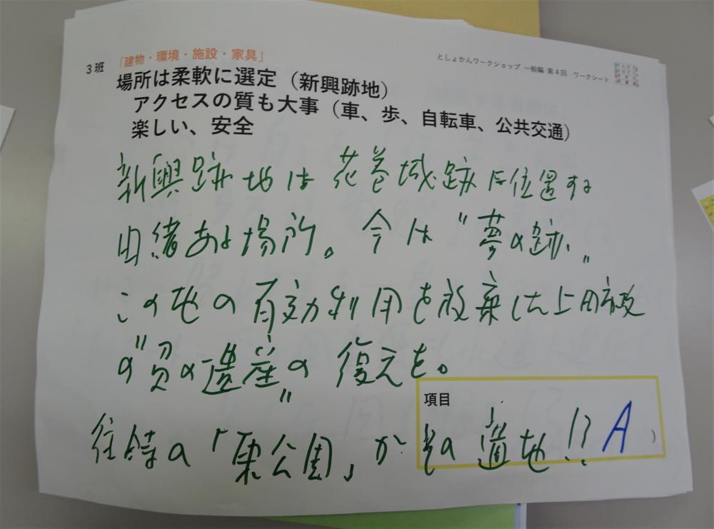 花巻城址(新興製作所跡地)に新花巻図書館を!?