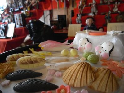 伝統の職人技 雛の飾り菓子:画像