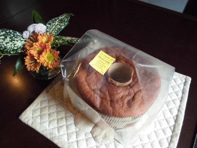 ★。★「米粉のシフォンケーキ」と「お餅」いただきました・・・美蔵