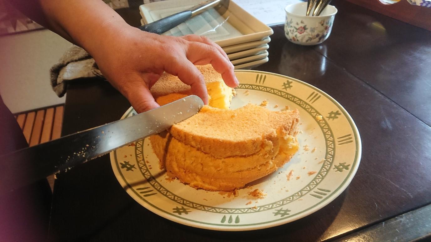 ★。★今日は「シフォンケーキ作りの教室」でした・・・美蔵
