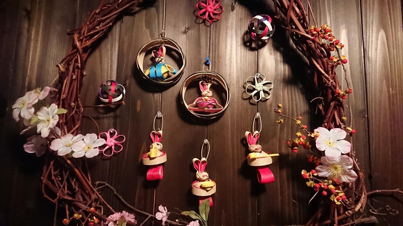 ★。★玄関も雛飾りに・・・美蔵