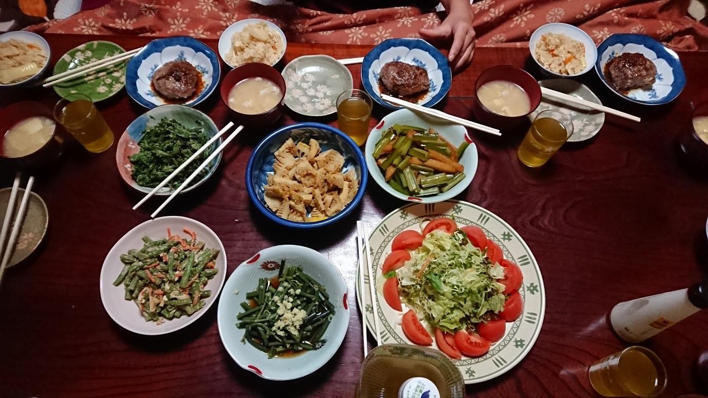 ★。★お泊りの夕飯とおやつ・・・美蔵