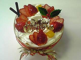 クリスマスケーキの予約始まりました♪:画像