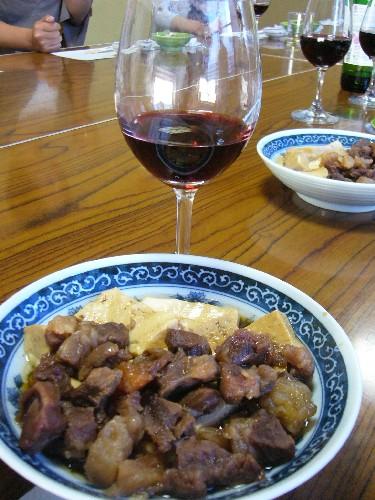 mistarboo「旬菜料理店 あっさり 牛すじ煮込と高畠ワインは合うねー」