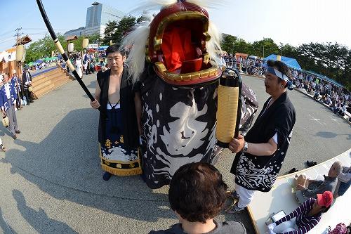 5月24日黒獅子祭りの時/