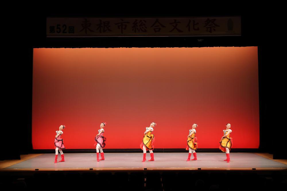 2016/11/3 東根文化祭 【ナポリ・トレパック・レッドポピー・レヴェランス】