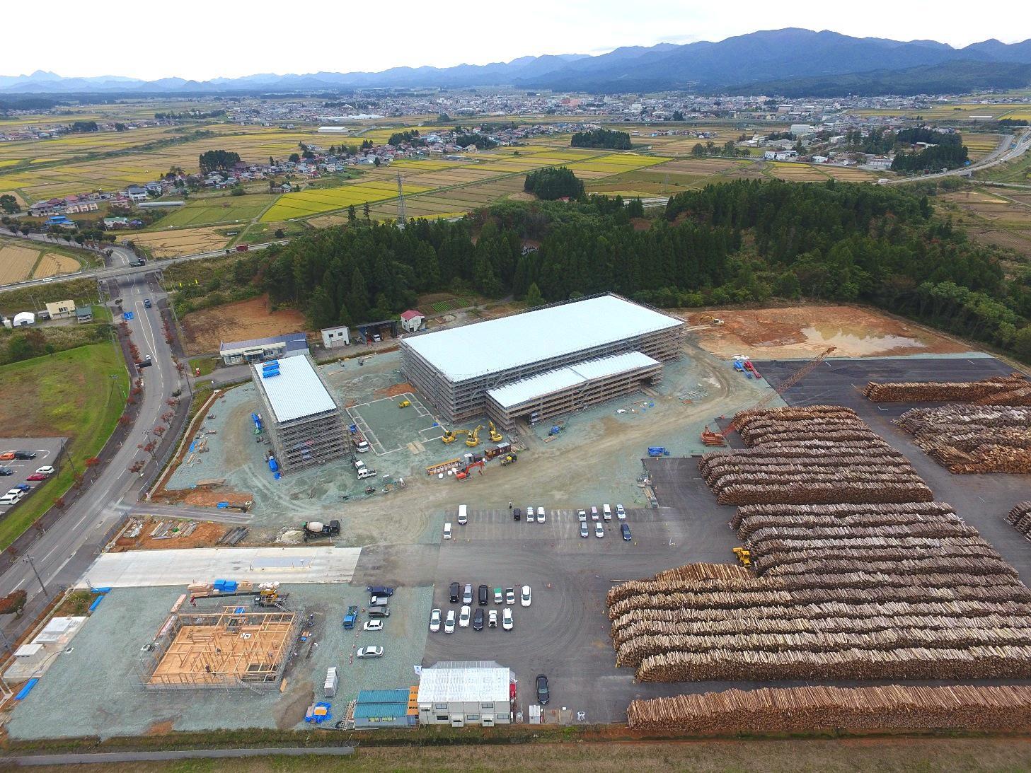 発電所の建設状況(平成29年10月現在):画像