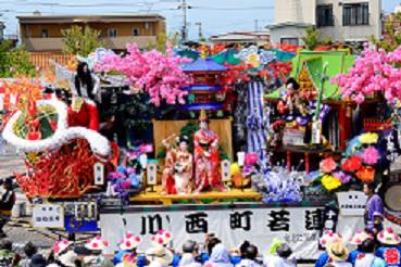 When you come to Shinjyo Festival, please stay at Mogami area!