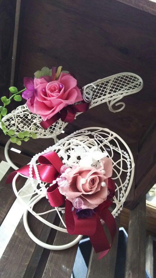 おはな。と。もっと。お花の靴。