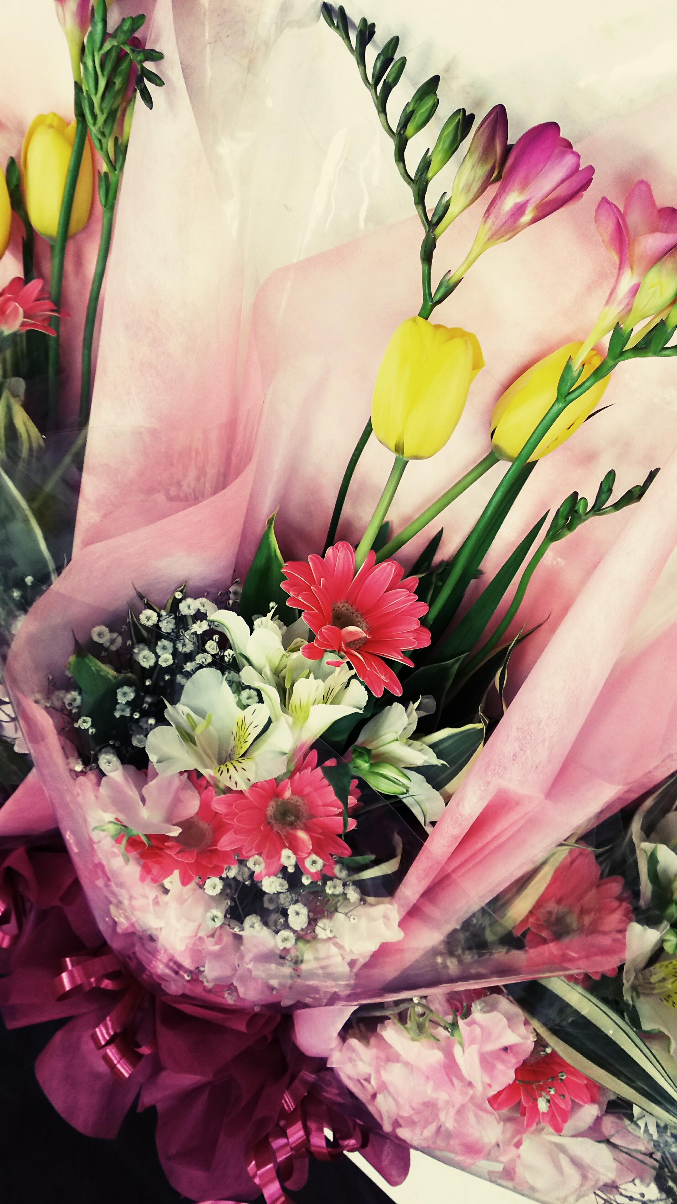 おはな。と。もっと。ありがとうの花束♪