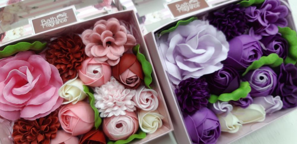 お花の入浴剤☆