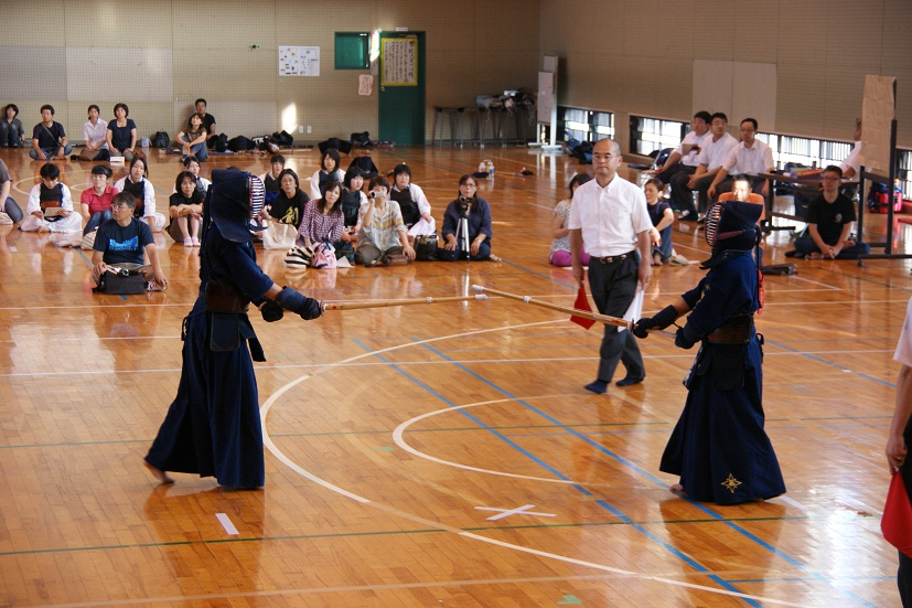 置賜地区高等学校新人大会剣道競技の結果