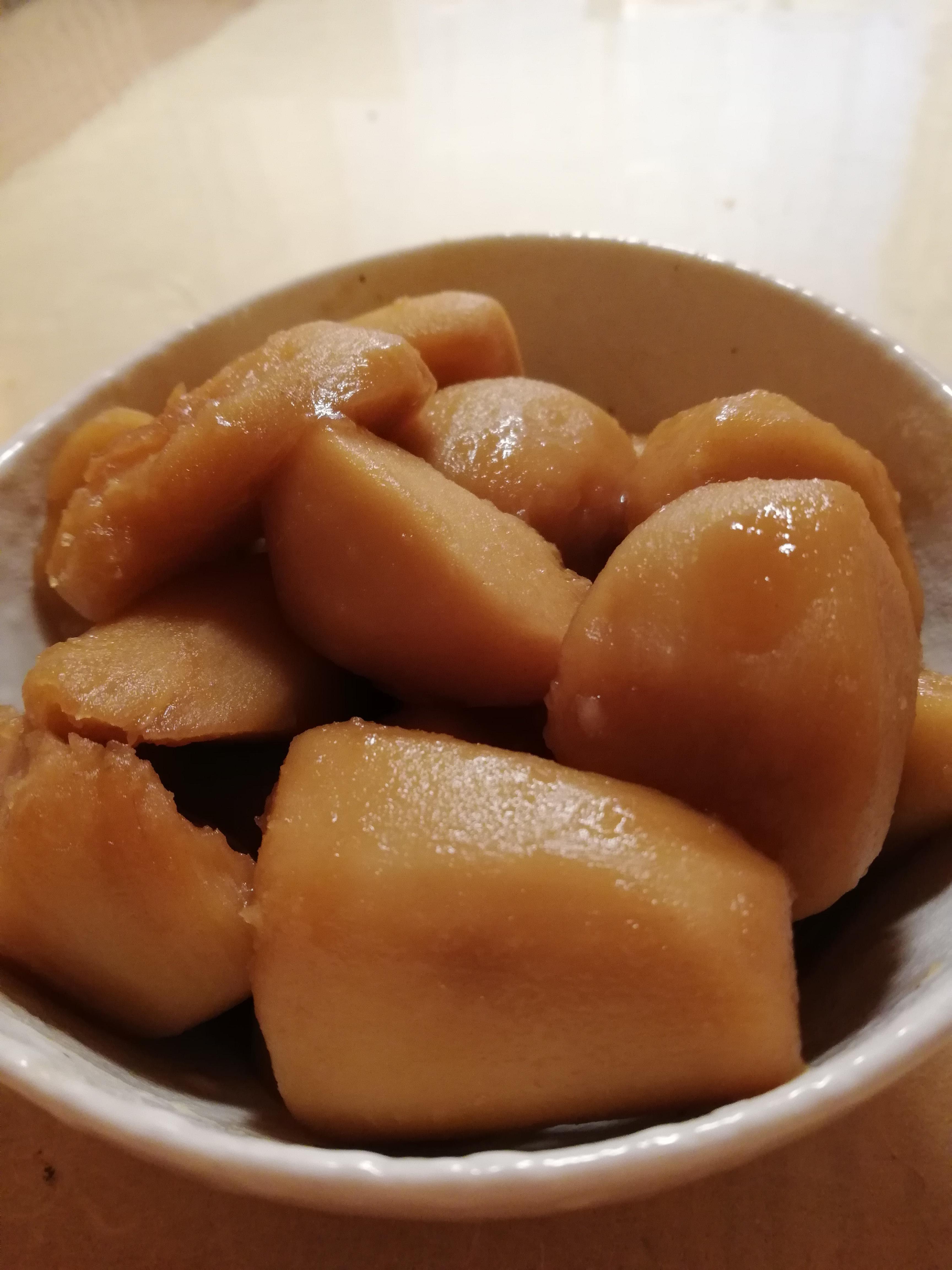 悪戸芋皮むき「冷凍」のおいしい使い方(o´▽`o)