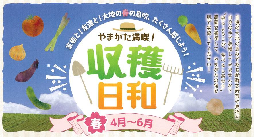 The Yamagata enjoyment! We carry out crop weather (edition in spring)! : Image