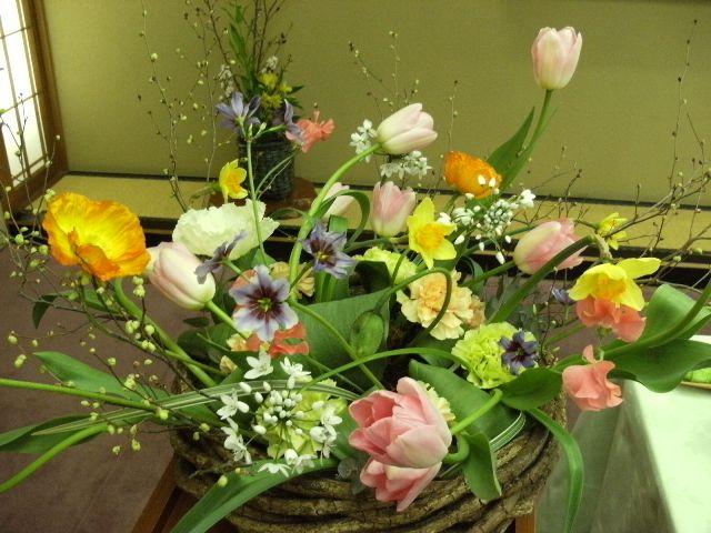 お花屋さんの勉強会でした