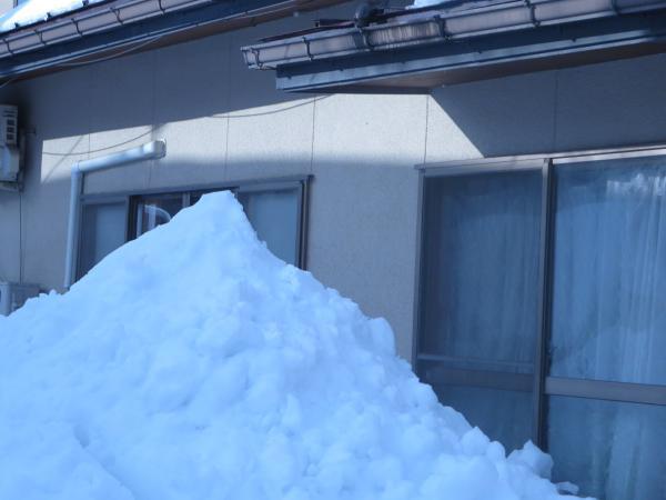 2度目の雪下ろし