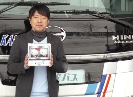 松山観光バス株式会社|池田 新:画像