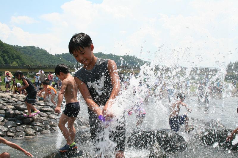 第21回 ながい水まつり/最上川花火大会:画像