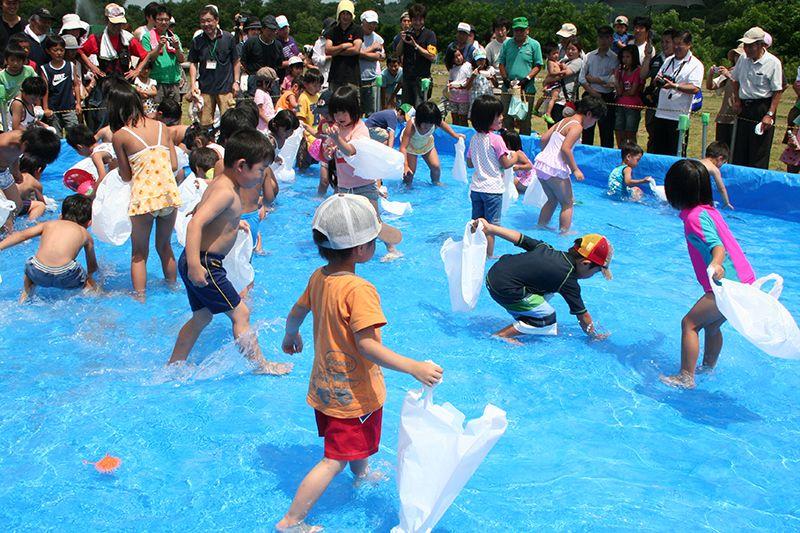 第26回 ながい水まつり/最上川花火大会:画像