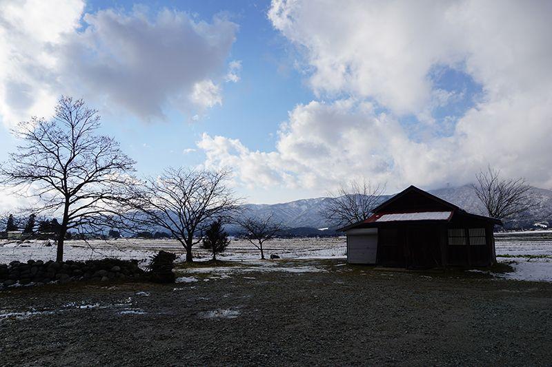 '16長井市積雪情報(1月14日)