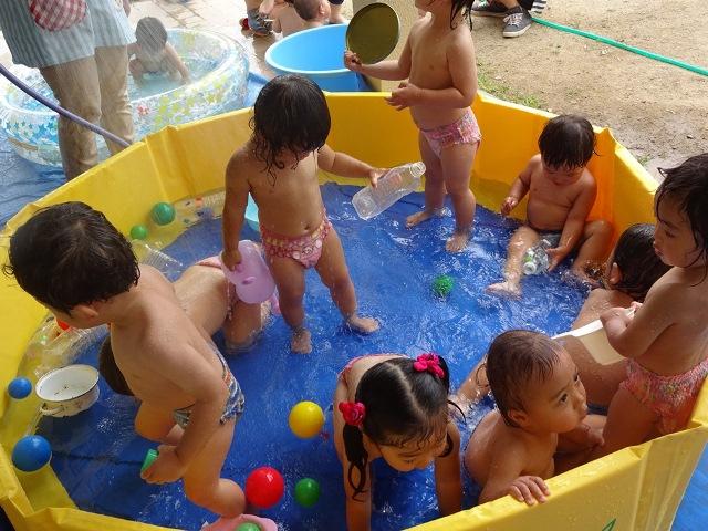 プール遊びⅡ
