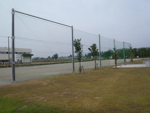 平成28年度生涯学習プラザ運動公園防球設備設置工事:画像