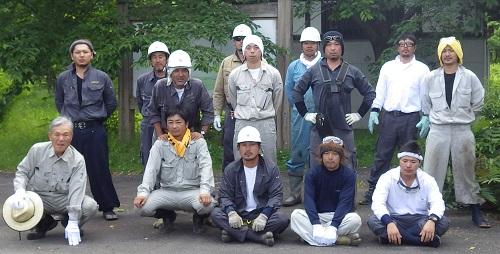 6月17日、ボランティア活動報告:画像