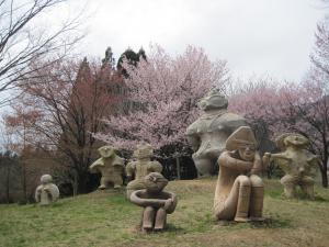 避難者支援 桜名所巡り交流会