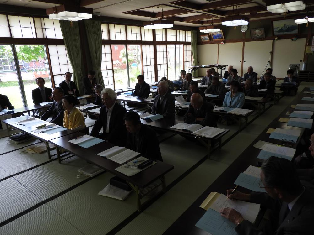 「平成28年度 長井市老人クラブ連合会総会開催!」:画像