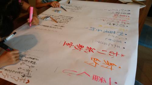 長井市ジュニアリーダーさんが福祉まつりの企画をしていただきました!