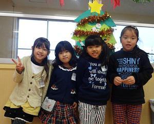 今日はクリスマス会♪♪ (長井市中央北学童クラブ):画像
