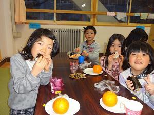1年間の幸運を祈って・・・ (長井市中央北学童クラブ):画像