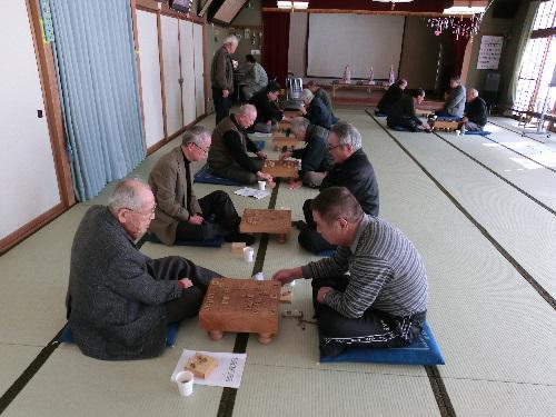 長井市老人クラブ連合会第31回 囲碁・将棋大会を行いました