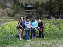 避難者支援・4月定期交流会 〜高畠町の史跡巡りに行ってきました!!〜:画像