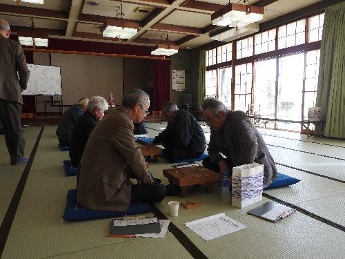 長井市老人クラブ連合会主催「将棋大会開催」:画像