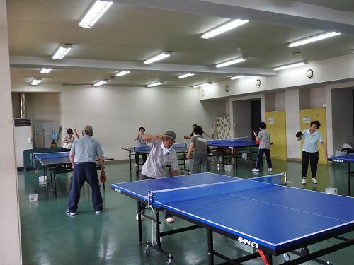 長井市老人クラブ連合会「卓球クラブ」始動!!:画像