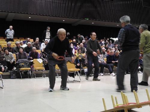 長井市老人クラブ連合会主催「第42回公式ワナゲ大会」開催:画像