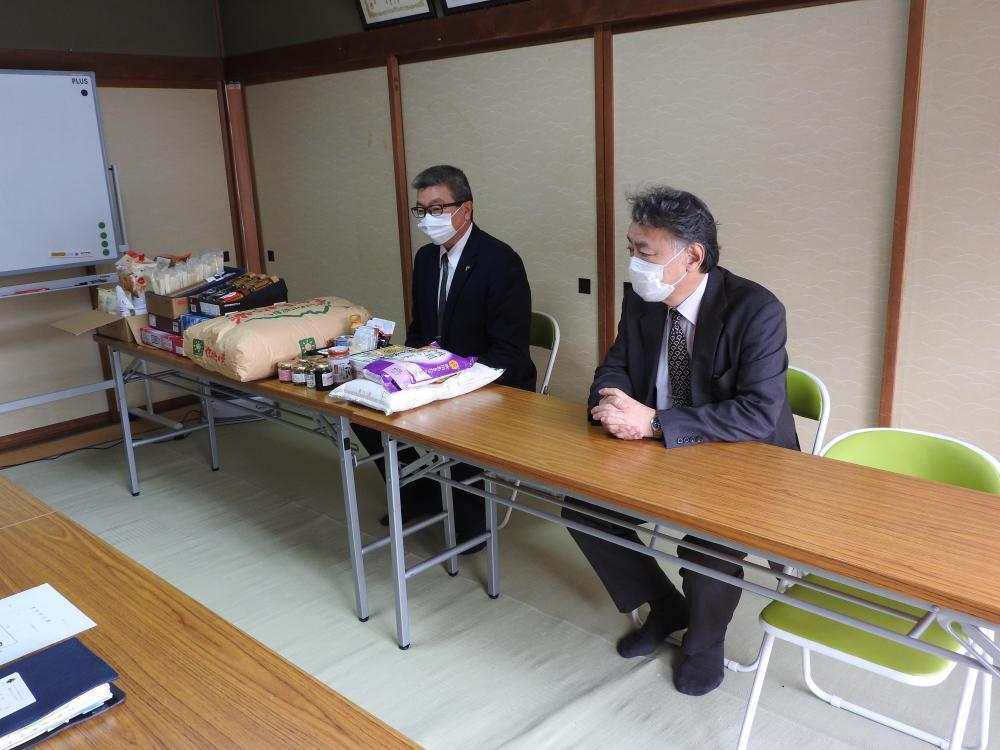 長井ライオンズクラブ様 フードバンク事業へのご寄付ありがとうございます。:画像