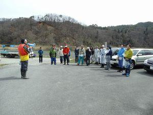 最上川河川清掃交流会を開催しました:画像
