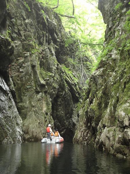 【7月25日、26日】三淵渓谷ボートツーリング【ながい百秋湖】:画像