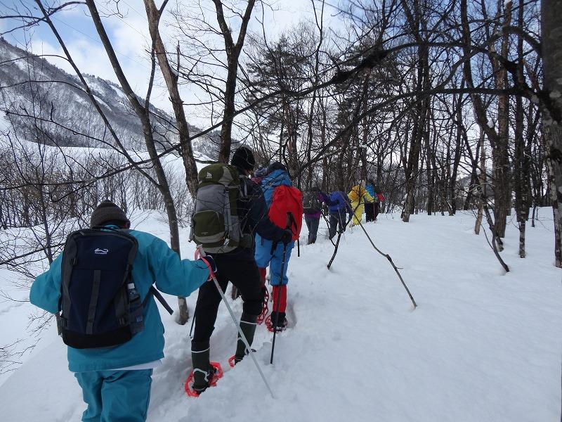 冬の里山を登ろう!熊野山スノートレッキングを開催します