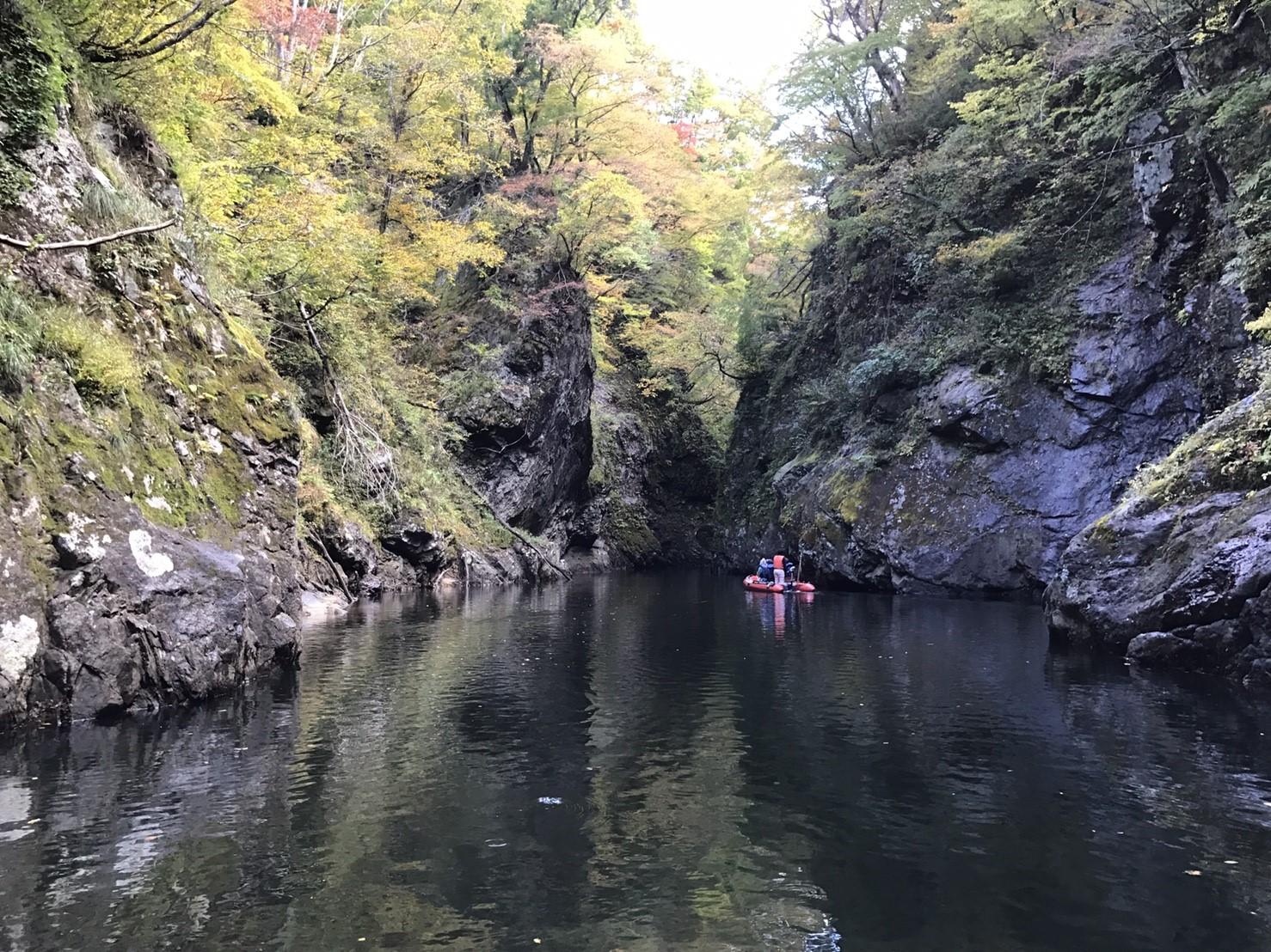 三淵渓谷ボートツーリング【今シーズン運航終了のお知らせ】:画像
