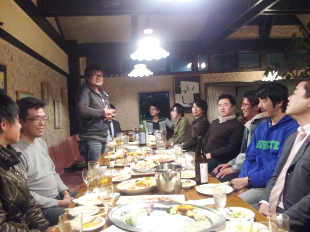 長井市青年団体連絡協議会 役員会開催:画像