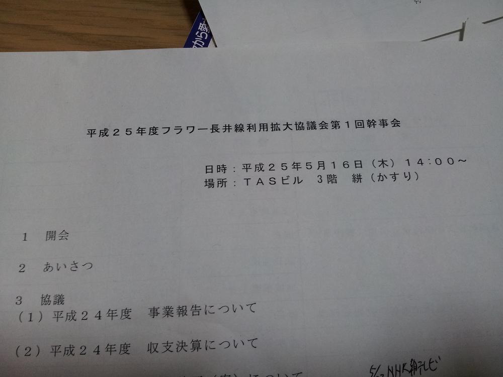 5/16(木) フラワー長井線利用拡大協議会幹事会:画像