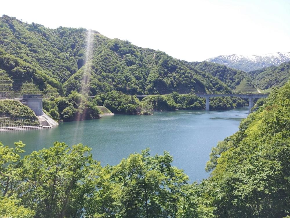 6/5(水) 都市再生整備計画検討委員会からの長井ダム:画像