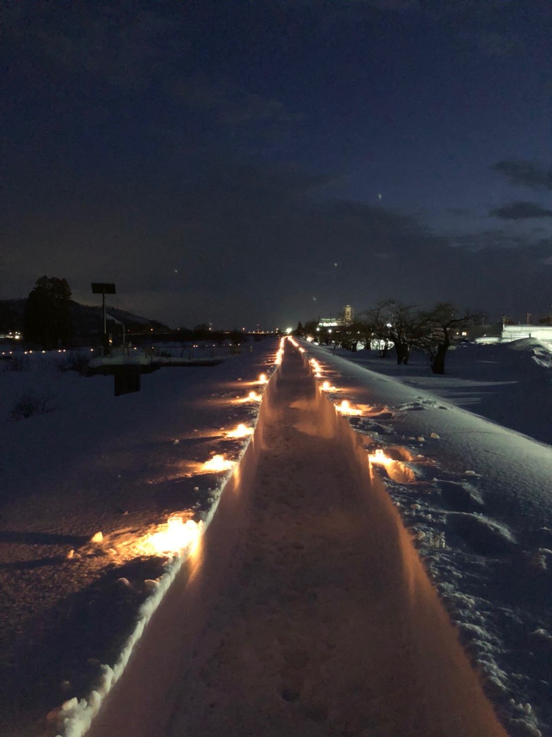 ながい雪灯り回廊まつり:画像