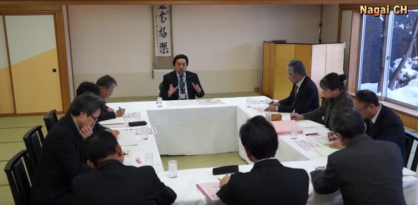 長井市教育行政懇談会(H28.1.21)